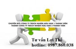 Chuyển đổi công ty TNHH một thành viên thành công ty TNHH hai thành viên trở lên