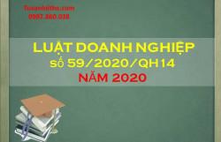 Luật Doanh nghiệp số 59/2020/QH14