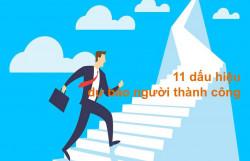 11 dấu hiệu dự báo người thành công