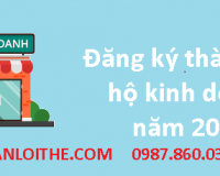 Thông tin và dịch vụ đăng ký thành lập hộ kinh doanh năm 2021