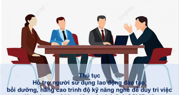 Thủ tục Hỗ trợ người sử dụng lao động đào tạo, bồi dưỡng, nâng cao trình độ kỹ năng nghề để duy trì việc làm cho người lao động do đại dịch COVID-19 tại Hưng Yên